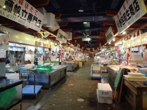 3日目 アウガ新鮮市場