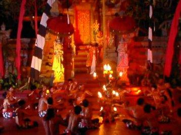 バリ 遊びに観光にショッピング三昧の休日(1)  バロンダンスとケチャを見よう!