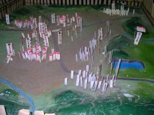 武具甲冑資料館の模型