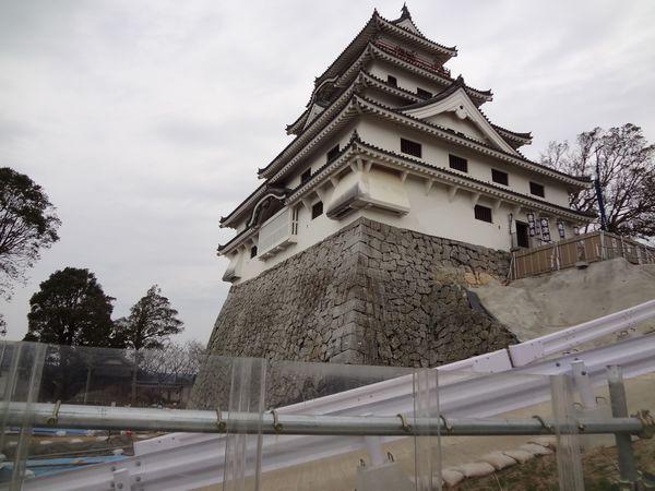 イカと唐津城を攻める!(1) 唐津城からの眺めは美しい
