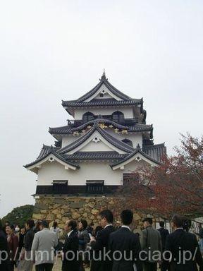 長浜城と小谷城の旅(2) 天守に攻め入る!