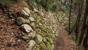 引田城 北二の丸下段の石垣