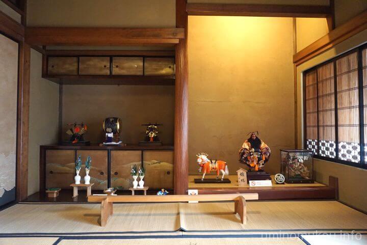 旧田中家住宅 ④和洋折衷を体感するなら和室を見よう!