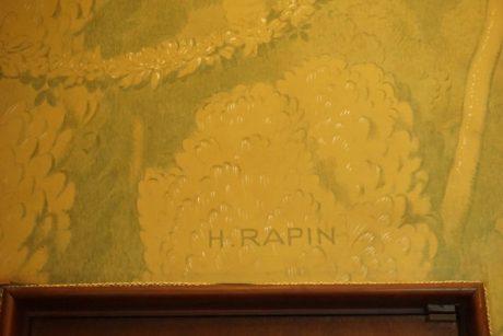 アンリ・ラパンの名前がある