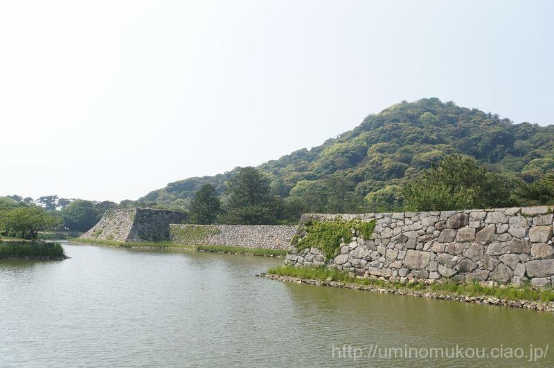 山陽の城めぐり 山口(8) 萩城の本丸へ攻め込む!