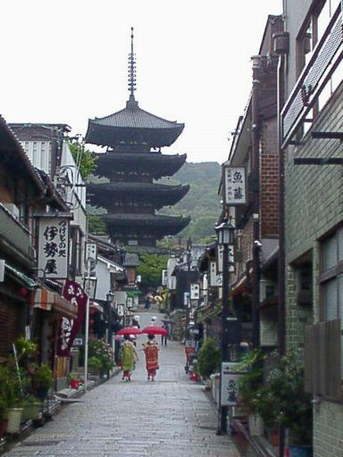 宇治と伏見への旅(7) 東山地区散歩