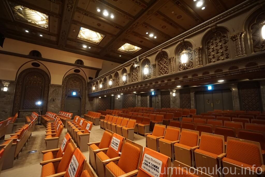 三越劇場 2階席