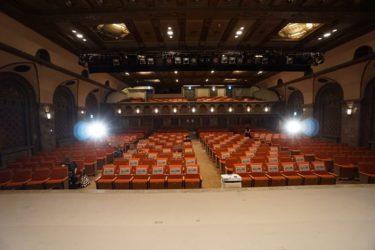 三越劇場 舞台からの眺め