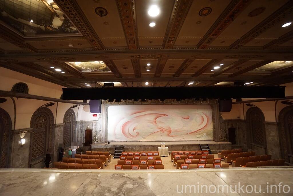 三越劇場 2階席からの眺め