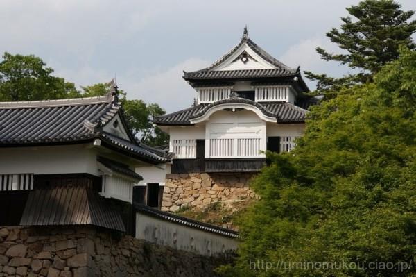 山陽の城めぐり 岡山(4) 備中松山城 二の丸到着