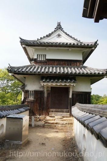 山陽の城めぐり 岡山(7) 備中松山城 二重櫓へ
