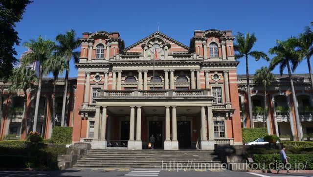 台湾グルメとレトロな建物の旅③ 旧台北州庁舎、濟南教会、台北医院 赤レンガの建物を訪ねて