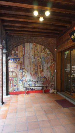 稲舎の壁画