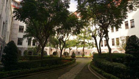 旧台湾総督府の庭