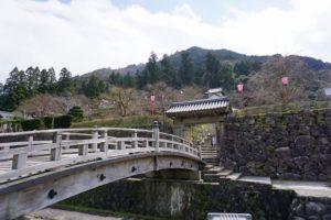 登城橋と埋門